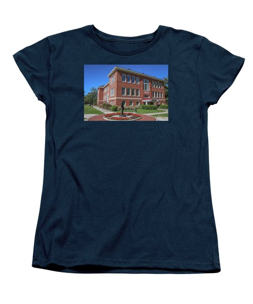 Women's T-Shirt (Standard Cut) featuring the photograph Girard Hall Day Shot by Gregory Daley  PPSA