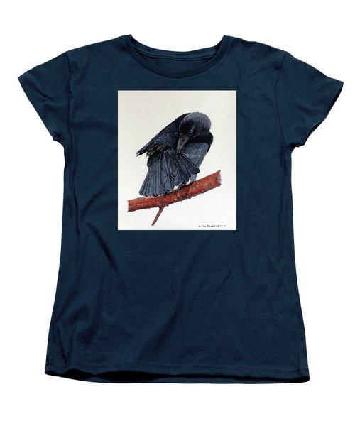 Girdie Women's T-Shirt (Standard Cut) by Linda Becker