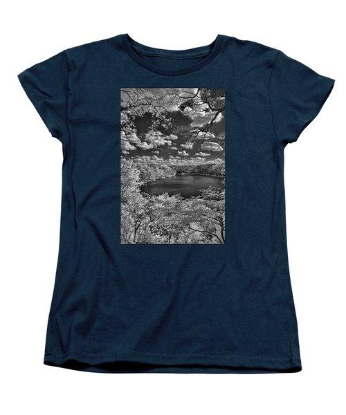 Glacier Lake Women's T-Shirt (Standard Cut) by Michael McGowan