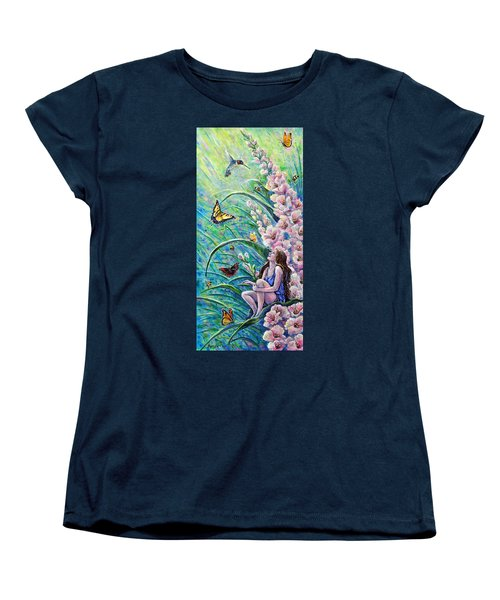 Glad To Be Here Women's T-Shirt (Standard Cut) by Gail Butler