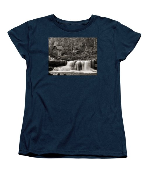 Glade Creek Grist Mill Monochrome Women's T-Shirt (Standard Cut)