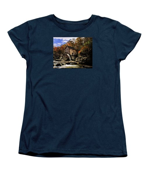 Glade Creek Grist Mill Women's T-Shirt (Standard Cut) by Mark Allen