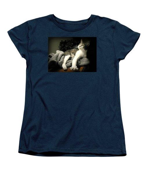 Higgins Women's T-Shirt (Standard Cut) by Diana Angstadt