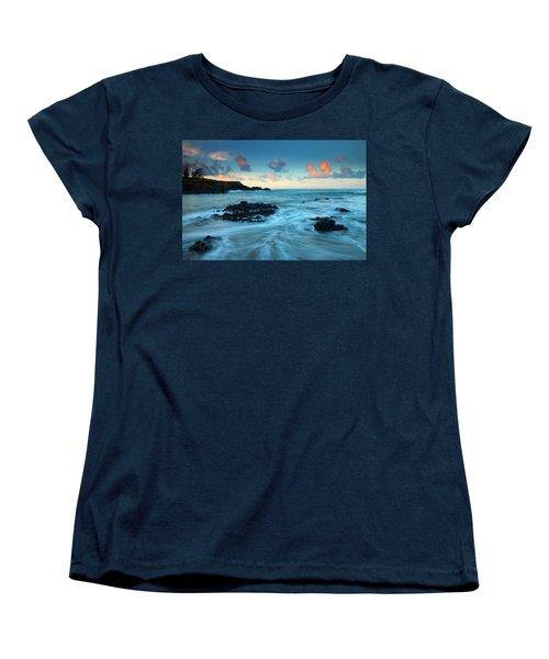 Glass Beach Dawn Women's T-Shirt (Standard Cut)