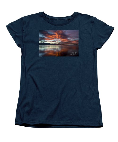 Glassy Tahoe Women's T-Shirt (Standard Cut) by Mitch Shindelbower