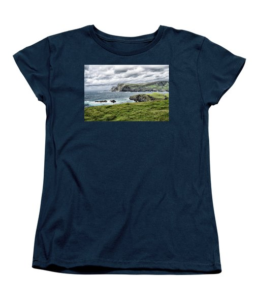 Glencolmcille Women's T-Shirt (Standard Cut) by Alan Toepfer