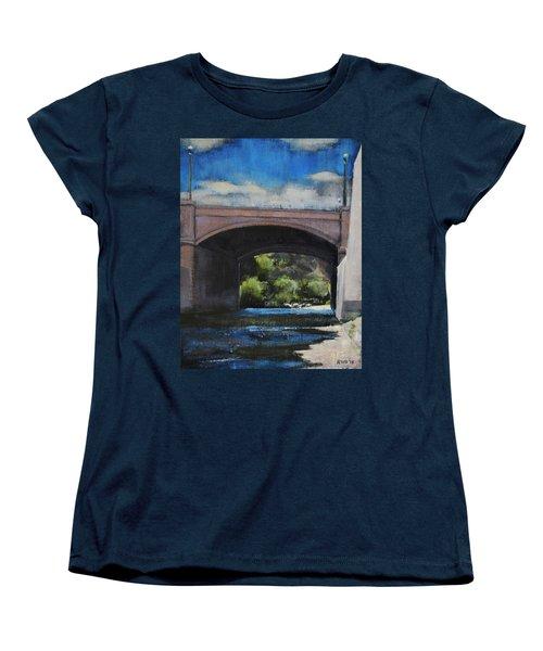 Glendale Bridge Women's T-Shirt (Standard Cut) by Richard Willson