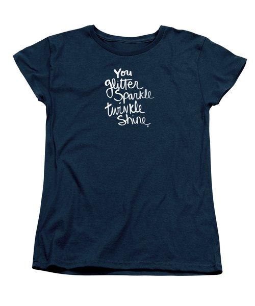 Glitter Sparkle Twinkle Women's T-Shirt (Standard Fit)