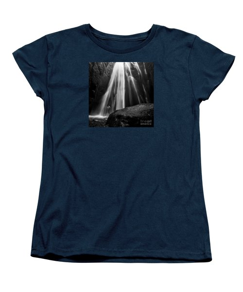 Gljufrabui Iceland Women's T-Shirt (Standard Cut) by Gunnar Orn Arnason