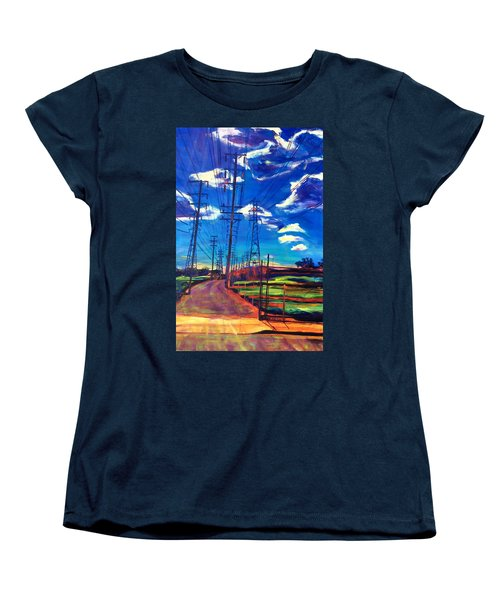 Glorious Afternoon Women's T-Shirt (Standard Cut) by Bonnie Lambert