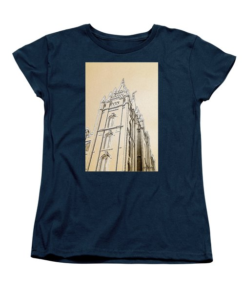 Glory And Majesty Women's T-Shirt (Standard Cut) by Greg Collins