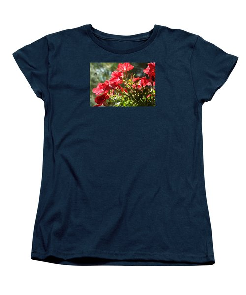 Women's T-Shirt (Standard Cut) featuring the photograph Glory To Thee O Lord by Jake Hartz