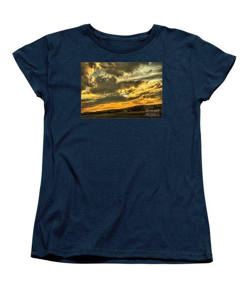 God Hand Women's T-Shirt (Standard Cut) by MaryLee Parker