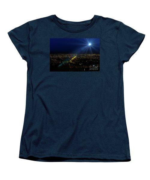 God Loves Cuenca Women's T-Shirt (Standard Cut) by Al Bourassa