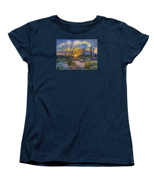 God's Day - Sonoran Desert Women's T-Shirt (Standard Cut) by Diane McClary
