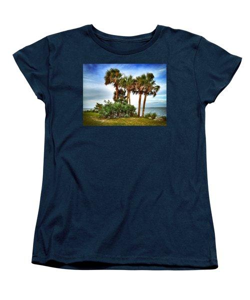 God's Nest Women's T-Shirt (Standard Cut) by Carlos Avila