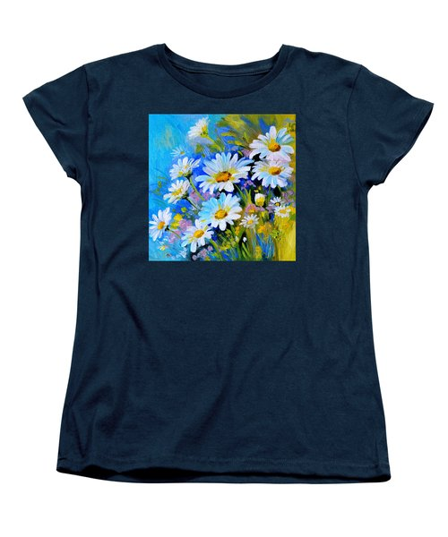 Women's T-Shirt (Standard Cut) featuring the digital art God's Touch by Karen Showell