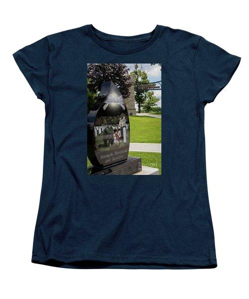 God's Veterans Women's T-Shirt (Standard Cut)