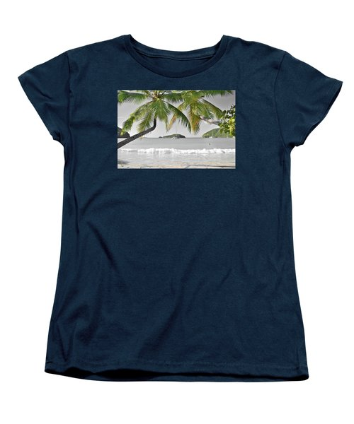 Women's T-Shirt (Standard Cut) featuring the photograph Going Green To Save Paradise by Frozen in Time Fine Art Photography