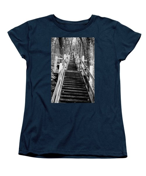 Going Up Women's T-Shirt (Standard Cut) by Jamie Lynn