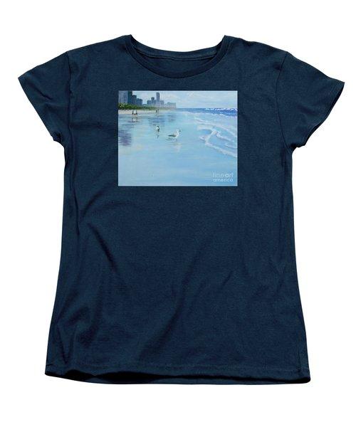 Gold Coast Australia, Women's T-Shirt (Standard Cut) by Genevieve Brown