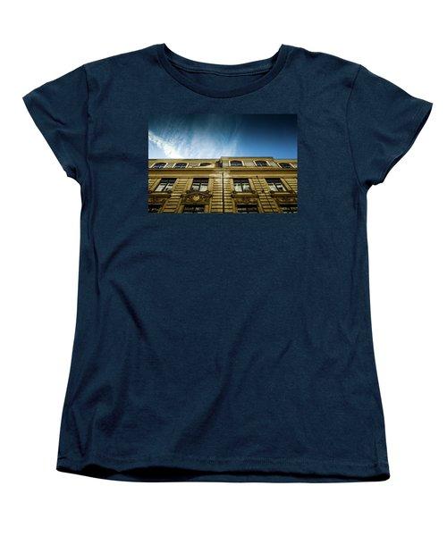 Golden Facade Women's T-Shirt (Standard Cut) by M G Whittingham