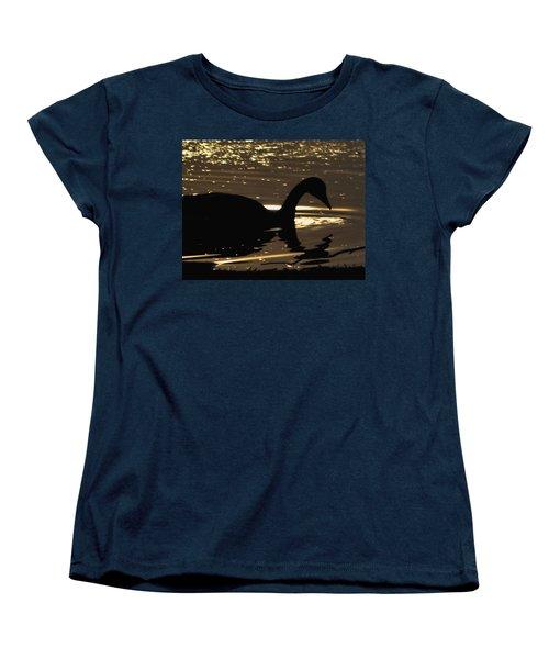 Golden Girl Women's T-Shirt (Standard Cut) by Robert McCubbin