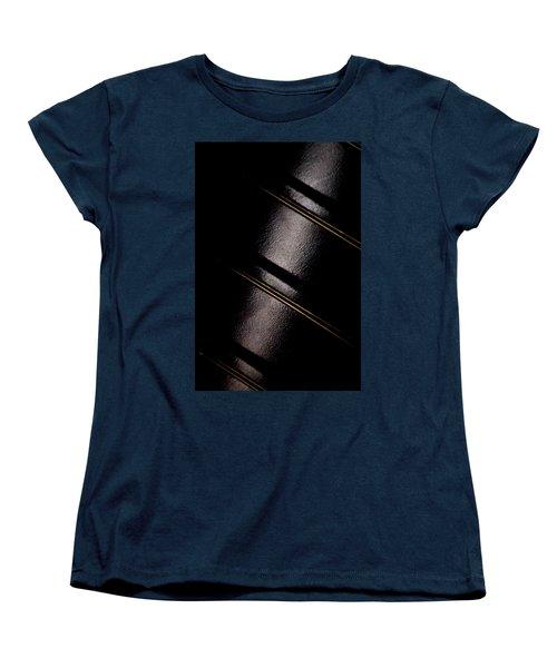 Women's T-Shirt (Standard Cut) featuring the photograph Golden Line by Paul Job