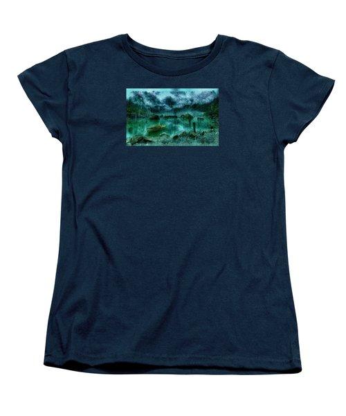 Gollum's Grotto Women's T-Shirt (Standard Cut) by Mario Carini