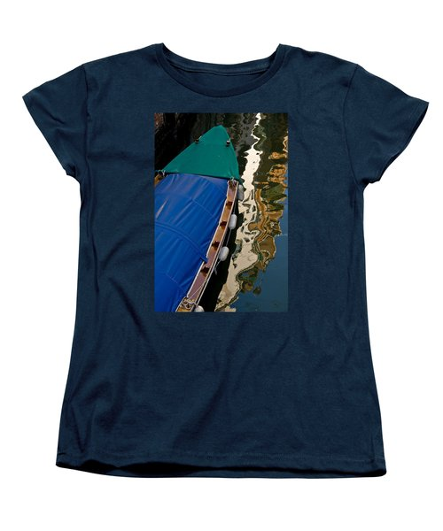 Gondola Reflection Women's T-Shirt (Standard Cut) by Harry Spitz
