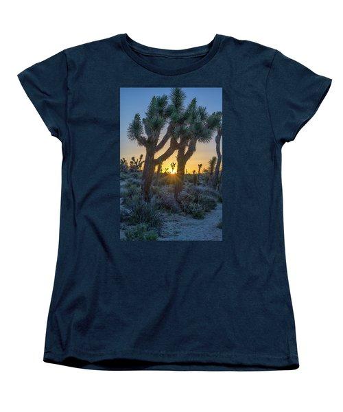 Good Morning From Joshua Tree Women's T-Shirt (Standard Cut)
