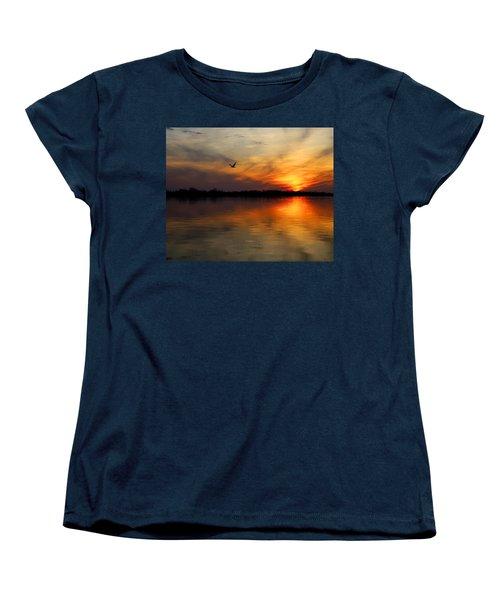 Good Morning Women's T-Shirt (Standard Cut) by Judy Vincent