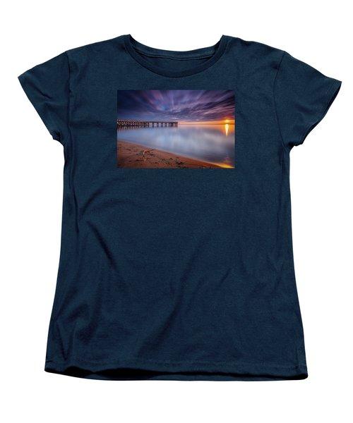 Women's T-Shirt (Standard Cut) featuring the photograph good morning Mr. Sun   by Edward Kreis
