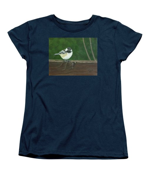 Women's T-Shirt (Standard Cut) featuring the painting Good Morning by Wendy Shoults