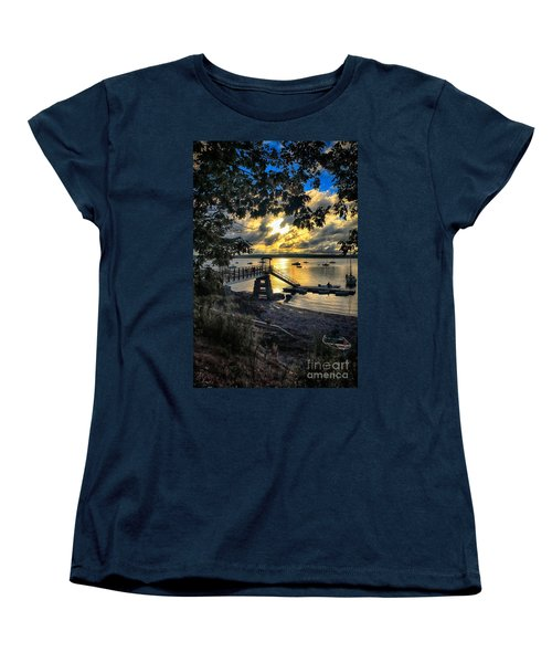 Good Night Madeleine Point Women's T-Shirt (Standard Cut) by Elizabeth Dow