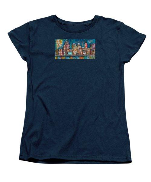Goodnight Nashville Women's T-Shirt (Standard Cut) by Kirsten Reed