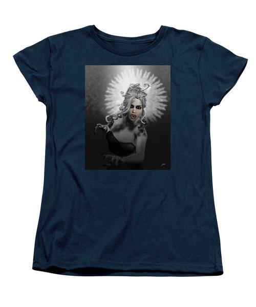 Gorgon Women's T-Shirt (Standard Cut) by Joaquin Abella