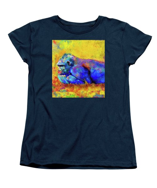 Gorilla Women's T-Shirt (Standard Cut) by Test