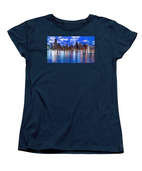 Gothem Women's T-Shirt (Standard Cut) by Az Jackson
