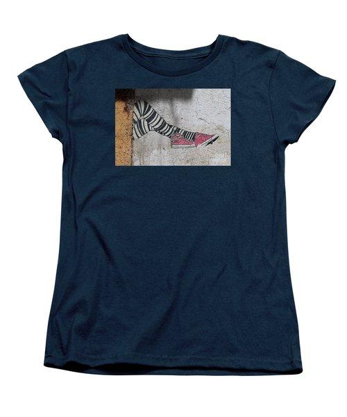 Graffiti Women's T-Shirt (Standard Cut) by Lynn England