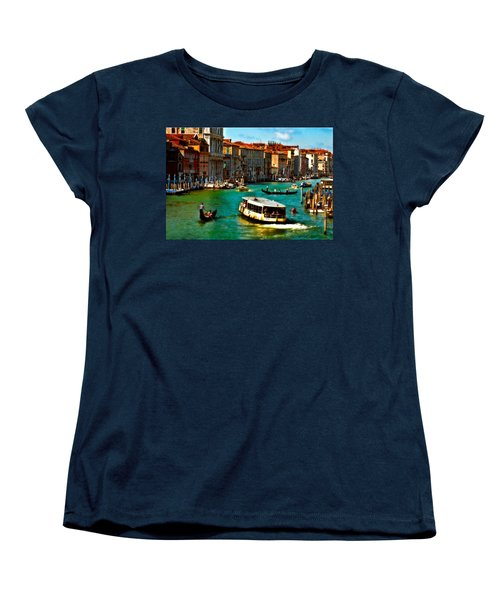 Grand Canal Daytime Women's T-Shirt (Standard Cut) by Harry Spitz