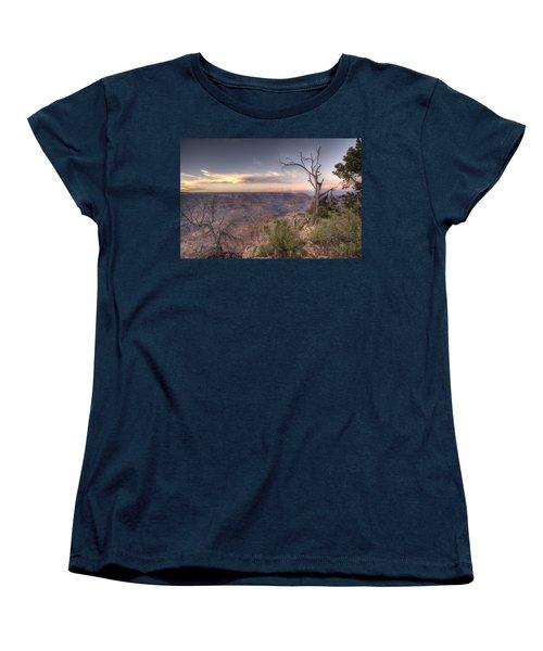 Grand Canyon 991 Women's T-Shirt (Standard Cut) by Michael Fryd