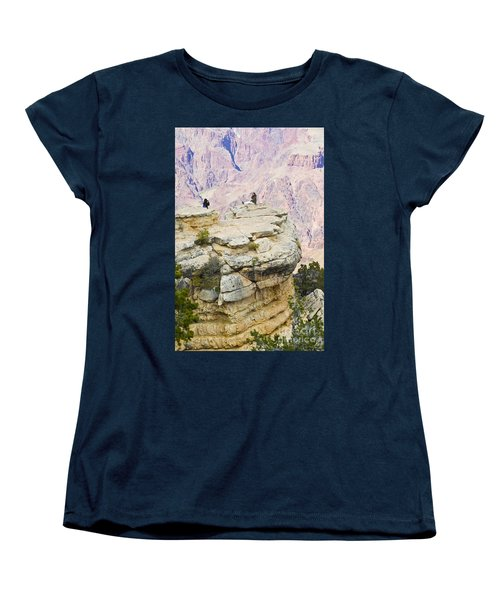 Women's T-Shirt (Standard Cut) featuring the photograph Grand Canyon Photo Op by Chris Dutton