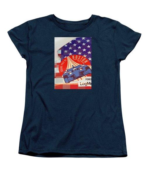 Grand Prix Of Boston Women's T-Shirt (Standard Cut) by Mike Martin