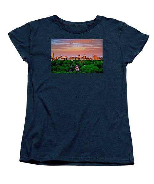 Grand Rapids Mi- 10 The Art Prize Women's T-Shirt (Standard Cut) by Robert Pearson