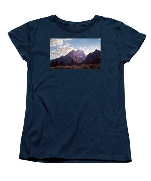 Grand Teton Women's T-Shirt (Standard Cut) by Scott Norris