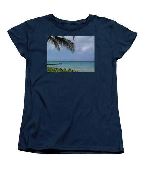 Women's T-Shirt (Standard Cut) featuring the photograph Grand Turk by Lois Lepisto