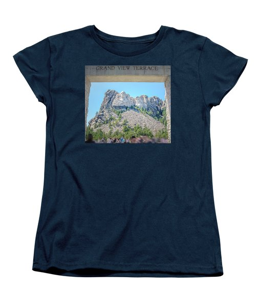Grand View Women's T-Shirt (Standard Cut) by Mark Dunton