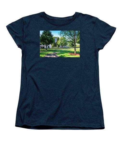 Grandstand At Keeneland Ky Women's T-Shirt (Standard Cut) by Chris Smith