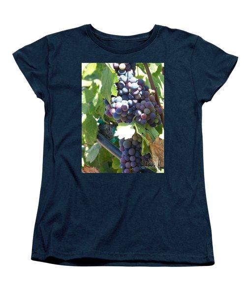 Grapevine Women's T-Shirt (Standard Cut) by Pamela Walrath